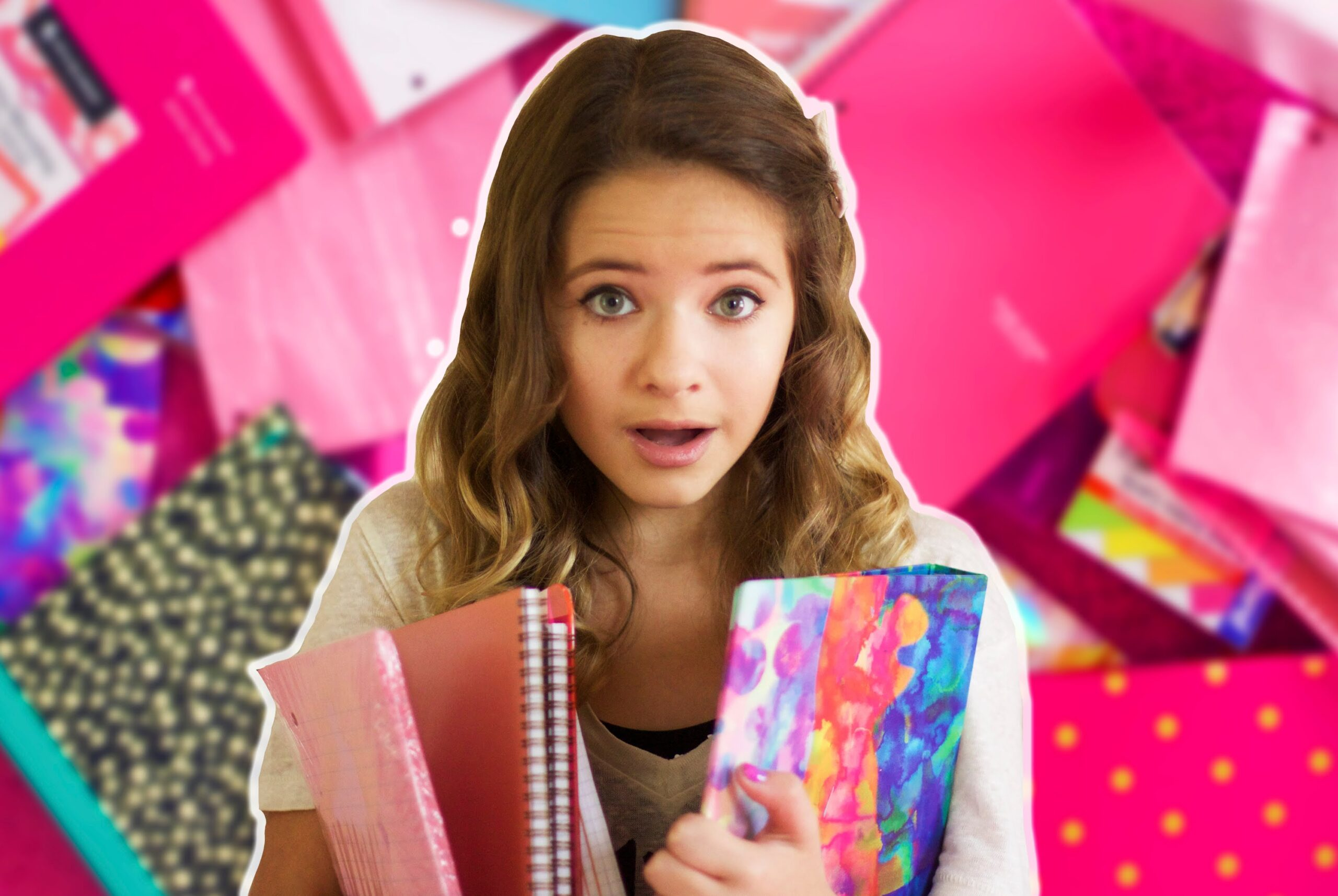A Very Pink Back to School Supplies Haul 2014