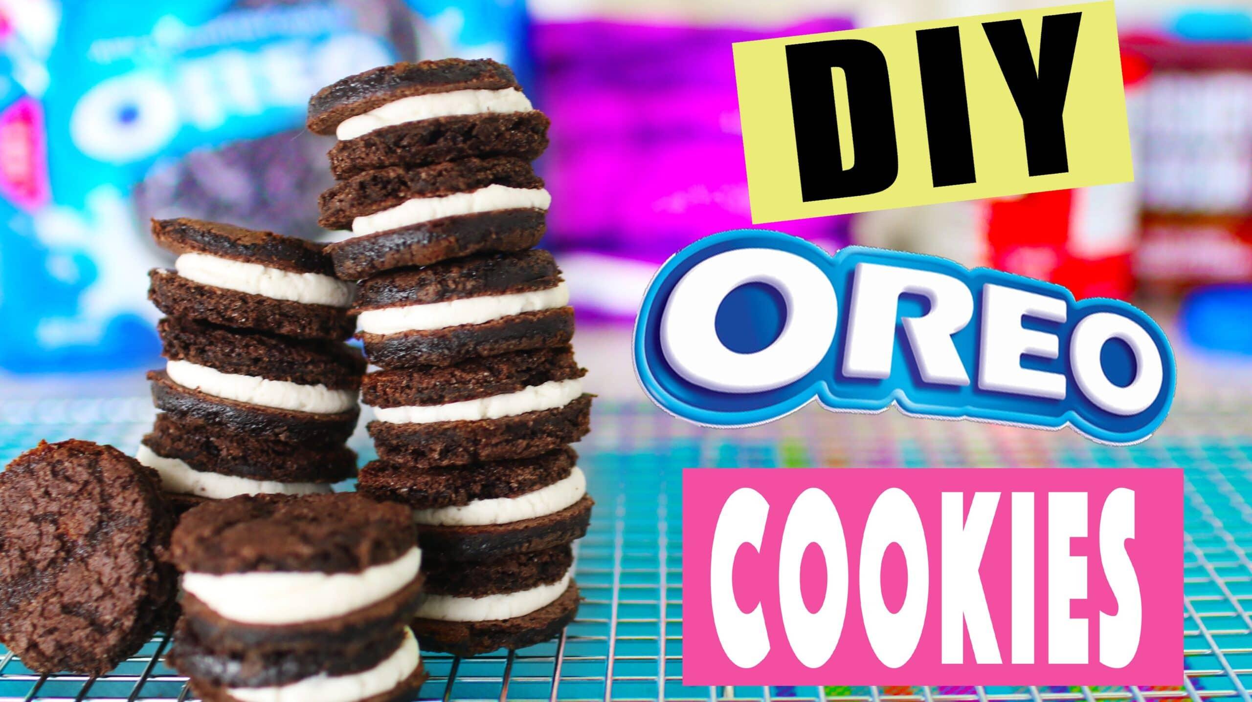 DIY Oreo Cookies