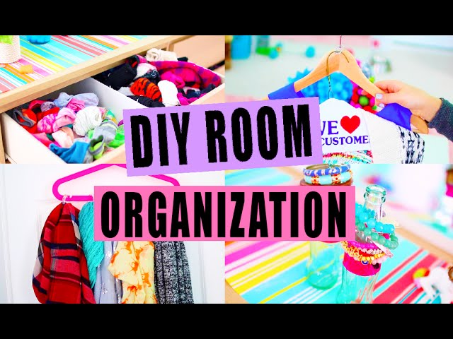 DIY Room Organization!
