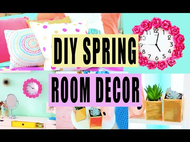 DIY Spring Room Decor