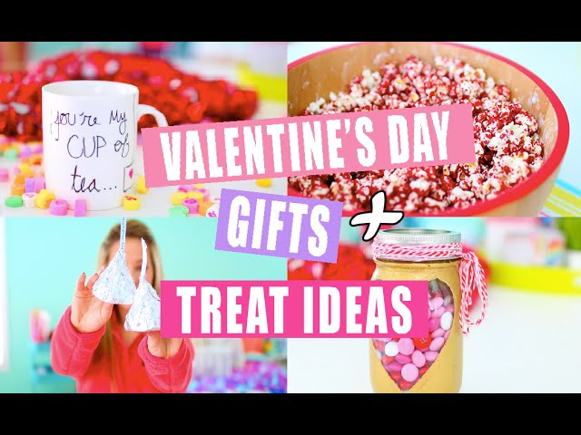 DIY Valentine's Day Gift and Treat Ideas!