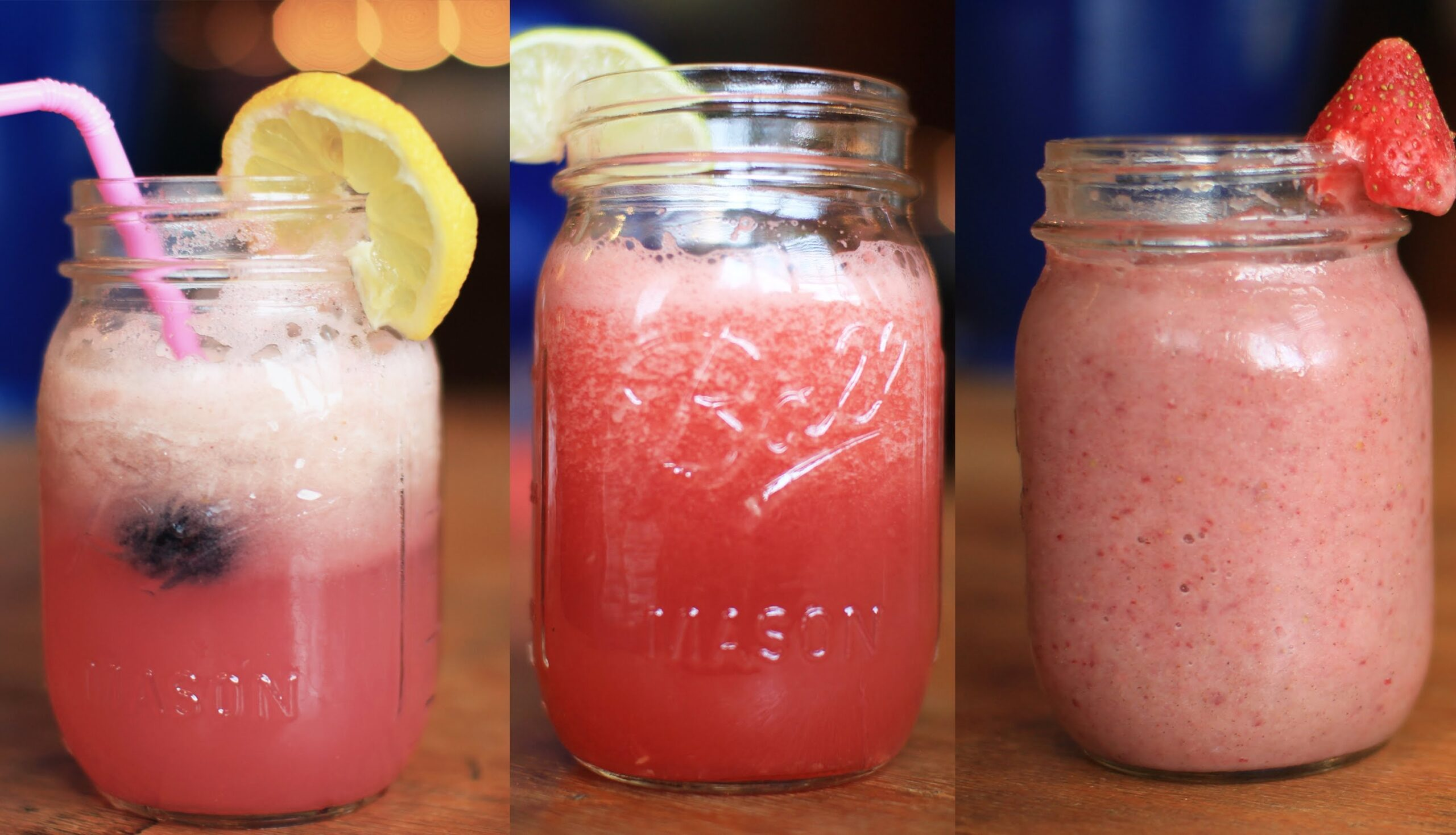 Healthy Summer Party Drinks: A Collab