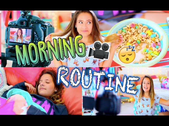 Morning Routine: Film Day Edition!
