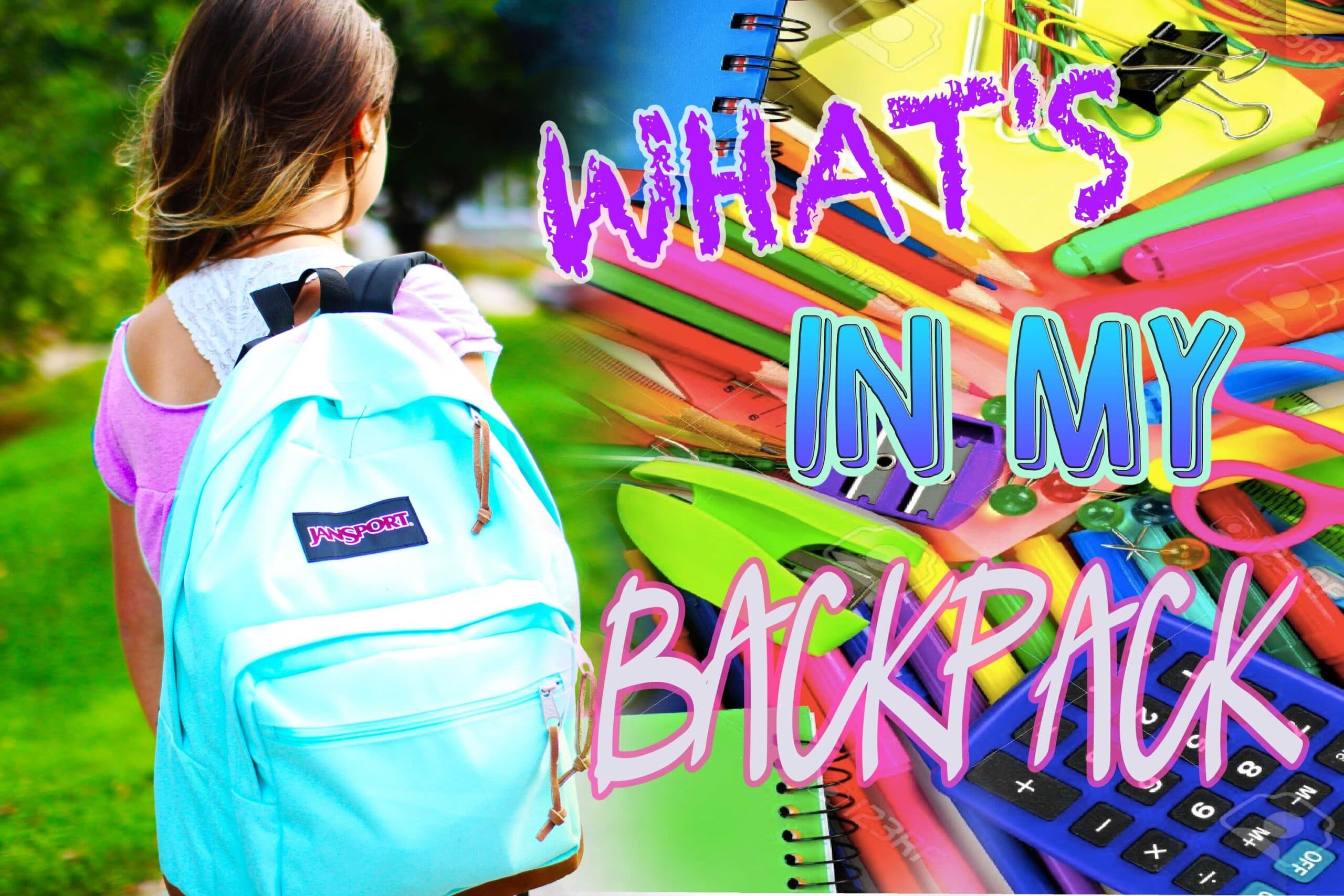 What's In My Backpack + School Essentials!
